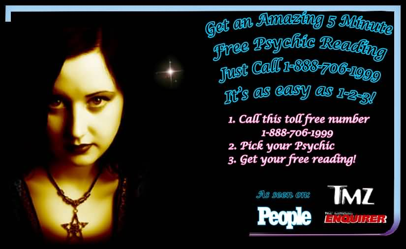 FREE PSYCHIC READINGS BY PHONE